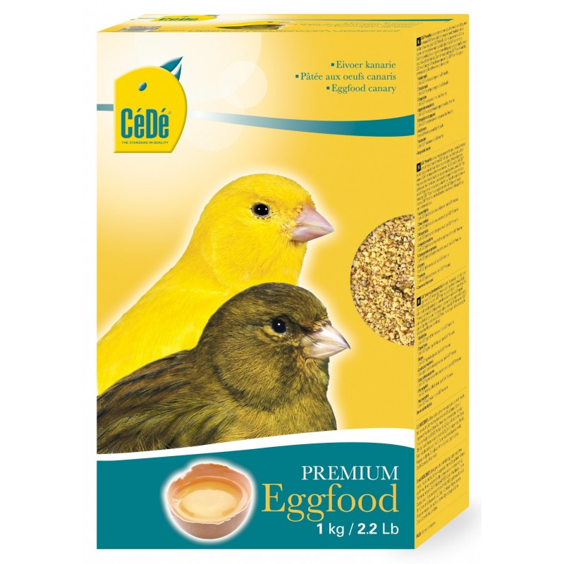 Mash dry the eggs for canaries 1kg - Sold  721 Cédé 4,99€ Ornibird