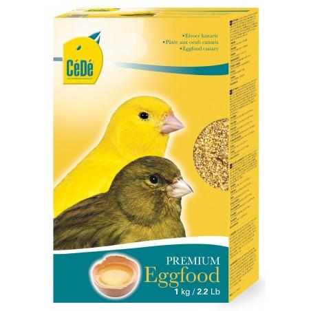 Pâtée sèche aux œufs pour canaris 1kg - Cédé