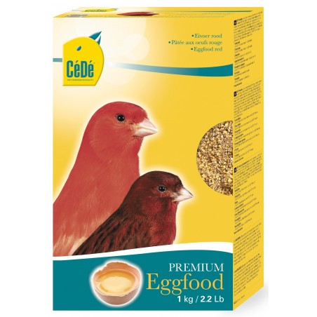 Mash the eggs red for canaries 1kg - Sold