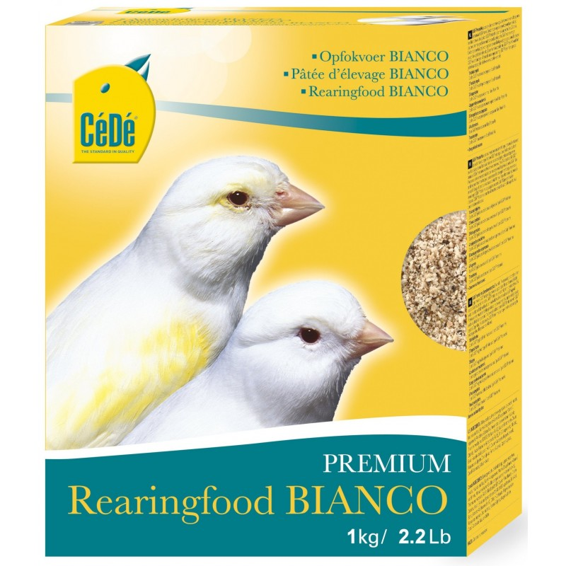Mash the eggs Bianco for canaries 1kg - Sold 733 Cédé 5,02€ Ornibird