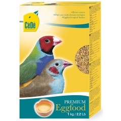 Pâtée aux œufs pour exotiques 1kg - Cédé 735 Cédé 5,20 € Ornibird