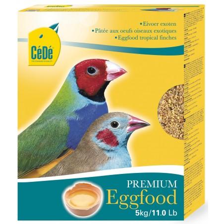 Pâtée aux œufs pour exotiques 5kg - Cédé