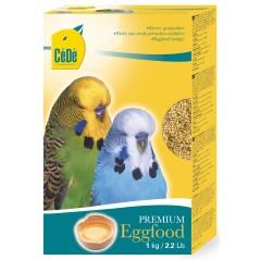 Pâtée aux œufs pour perruches ondulées 1kg - Cédé