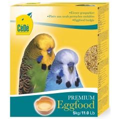 Pâtée aux œufs pour perruches ondulées 5kg - Cédé
