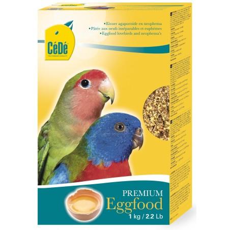 Pâtée aux œufs pour agapornides & euphèmes 1kg - Cédé