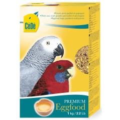 Pâtée aux œufs pour grandes perruches et perroquets 1kg - Cédé