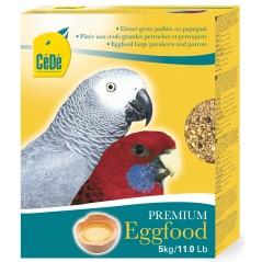 Pâtée aux œufs pour grandes perruches et perroquets 5kg - Cédé