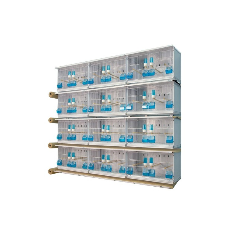 Batteries of 12 cages 58x30x36 - New Canariz 2800 New Canariz 923,10 € Ornibird