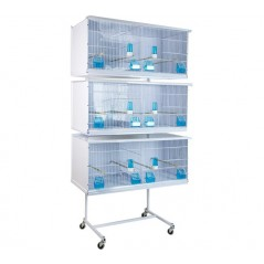 Battery of 3 large cages 90x40x40 - New Canariz 3600 New Canariz 535,50 € Ornibird