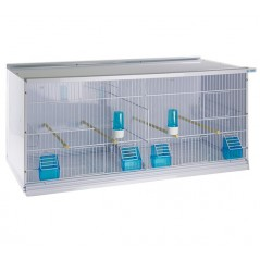 Batterie de 3 grandes cages 90x40x40 - New Canariz 3600 New Canariz 531,07€ Ornibird