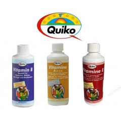 Pack Quiko - Vitamin B - Vitamin E - Vitamin A-De-C PACK_QUIKO_VIT3 Quiko 28,51 € Ornibird
