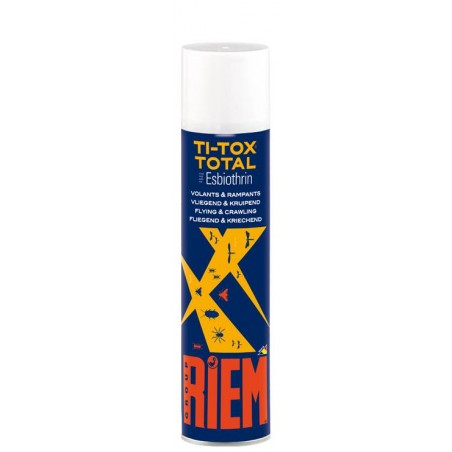 Ti-Tox Total Insecticide flying and crawling 400ml - Riem