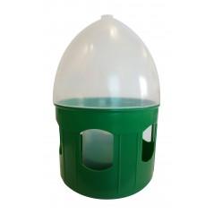 Fontaine d'eau en plastique avec anneau de transport 5L
