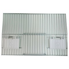 Storefront for cage, training with 1-door and 2-door feeders 33x22cm 89925653 Ost-Belgium 4,60 € Ornibird