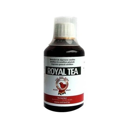 Royal tea liquid: plants, acids, essential oils) 250ml - Red Bird to birds
