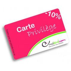 Carte Privilège Ornibird (-10% sur tous vos achats pendant 1 an) !