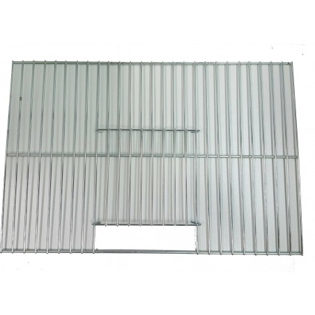 Devanture pour cage d'entrainement avec 1 porte 32x21,5cm