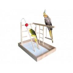 Terrain de jeu en bois 35,5x25x27 cm 31526 Nobby 16,25 € Ornibird