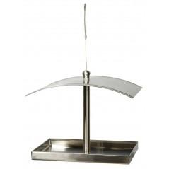 Mangiatoia rettangolare in acciaio inox filo di sospensione - Benelux 17571 Benelux 25,95 € Ornibird
