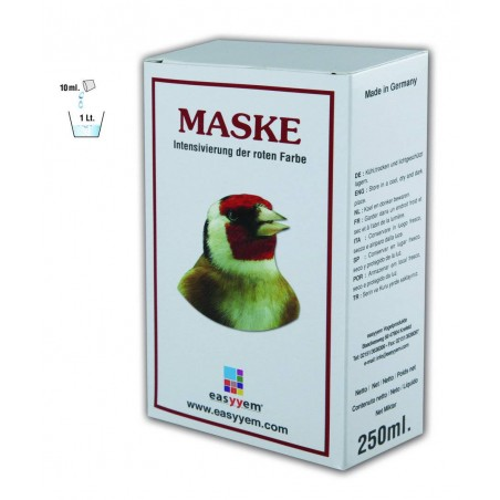 Maske, colorant rouge liquide 250ml - Easyyem