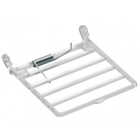 Clamshell plastic horizontal type for manger - 2G-R