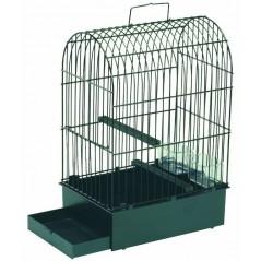 Cage pour York avec tiroir en plastique 24x16x36cm - 2G-R