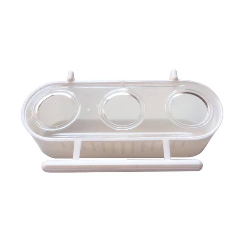 Feeder 3 compartments 6.5x12.5x4 cm 1427 Benelux 1,30 € Ornibird