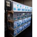 Batterie de 12 cages 64x30x34 Modèle Champion- New Canariz 3000 New Canariz 1,213.80 Ornibird