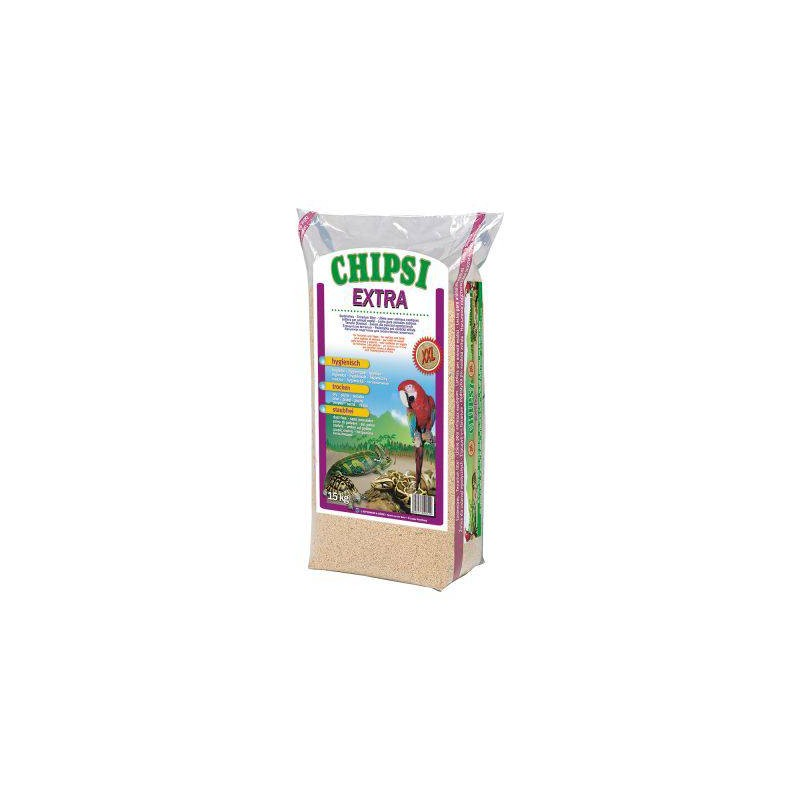 Chips of Beech milled 8mm Extra XXL 15kg - Chipsi 105133002 Chipsi 14,30 € Ornibird