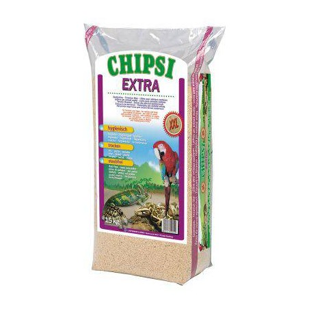 Chips of Beech milled 8mm Extra XXL 15kg - Chipsi