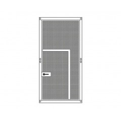 Panel aviary galvanised 95x195cm fence + small door - Sandano 19136 Sandano 133,05 € Ornibird