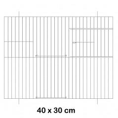 Frente a la jaula de metal 40x30cm - Fauna 14602 Fauna BirdProducts 7,09 € Ornibird
