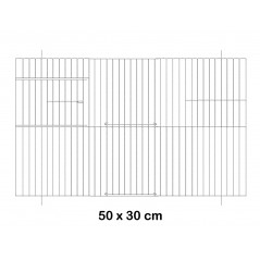 Façade de cage en métal 50x30cm - Fauna