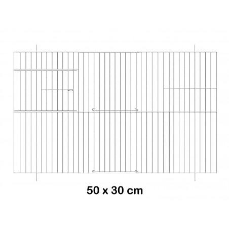 Facade metal cage 50x30cm - Fauna