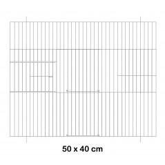 Façade de cage en métal 50x40cm - Fauna