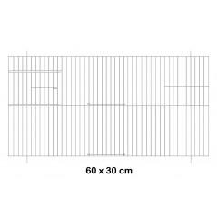 Façade de cage en métal 60x30cm - Fauna