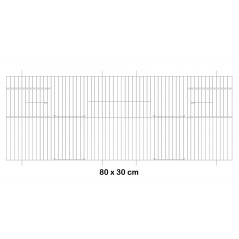 Fachada de la jaula de metal 80x30cm - Fauna 14642 Fauna BirdProducts 15,49 € Ornibird