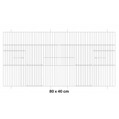 Facade metal cage 80x40cm - Fauna 14646 Fauna BirdProducts 19,00 € Ornibird