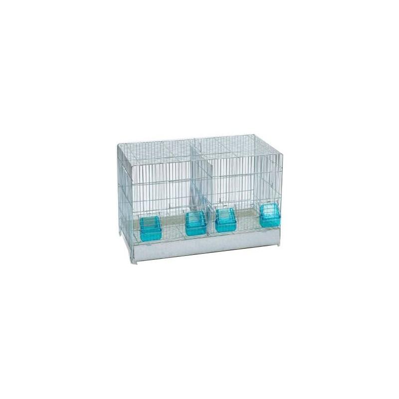 Cage Cova with drawer, plastic, 2 compartments 55x32x36cm 111015000 Grizo 36,71 € Ornibird