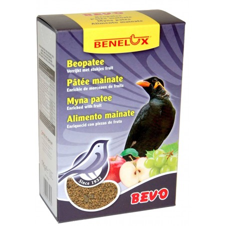 Patée mynahs fruit 1kg in box, Bevo - Benelux