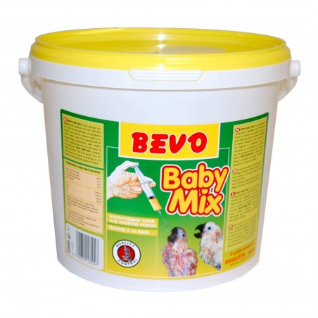 Pâtée d'élevage à la main Baby-Mix 2,5kg Bevo - Benelux