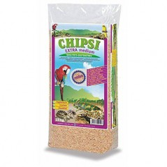 Chips of Beech milled 6mm Extra Medium 15kg - Chipsi 105123002 Chipsi 14,30 € Ornibird