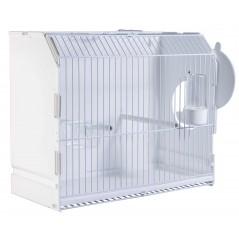Cage exposition plastique avec porte latérale 36x17x30 cm - 2G-R