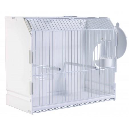Cage exposure of plastic with side door 36x17x30 cm - 2G-R