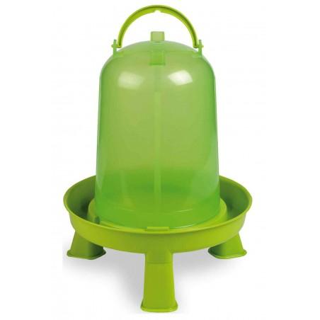 Abreuvoir sur pieds basse-cours vert 8 litres - Gaun