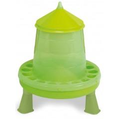 Mangeoire sur pieds basse-cours vert 4 kg - Gaun 24381 Gaun 13,55 € Ornibird