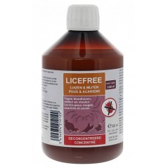 Licefree geconcentreerde vloeistof (tegen mijten en luizen) 500ml - Licefree