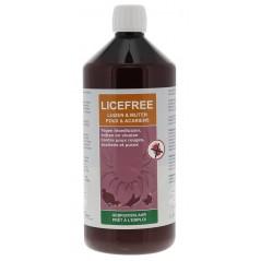 Licefree liquide prêt-à-l'emploi (contre des mites et des poux) 1L - Licefree