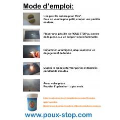 Fumigène Anti-Poux - 3 Pastilles - Poux-Stop POUX-STOP Poux Stop 15,00€ Ornibird