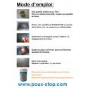 Kit de 42 Fumigènes Anti-Poux avec présentoir offert - 3 Pastilles - Poux-Stop
